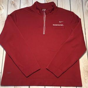 Nike men's fit therma Washington State sweatshirt
